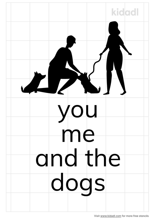 you-me-and-the-dogs-stencil
