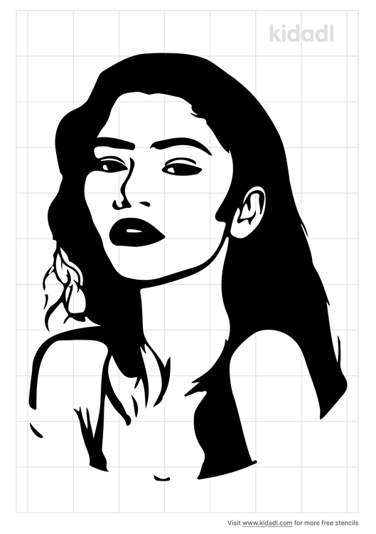zendaya-stencil