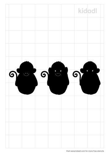 3-monkeys-simple-stencil.png