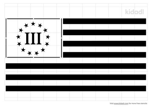 3-percenter-flag-stencil