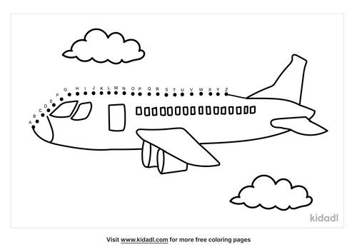 a-z-airplane-dot-to-dot