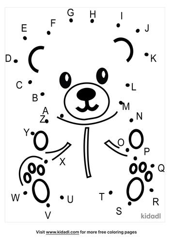 a-z-bear-dot-to-dot