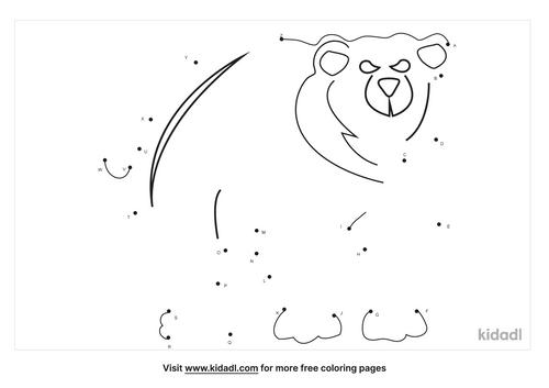 a-z-brown-bear-dot-to-dot