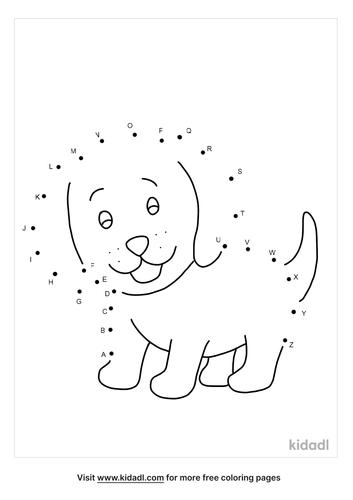 a-z-puppy-dot-to-dot