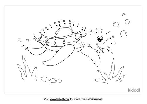 a-z-turtle-dot-to-dot