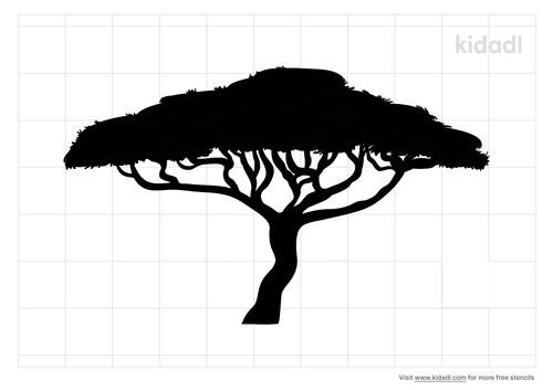 african-bush-tree-stencil