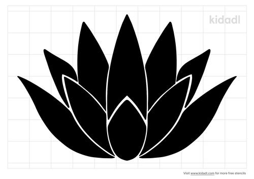agave-plant-stencil