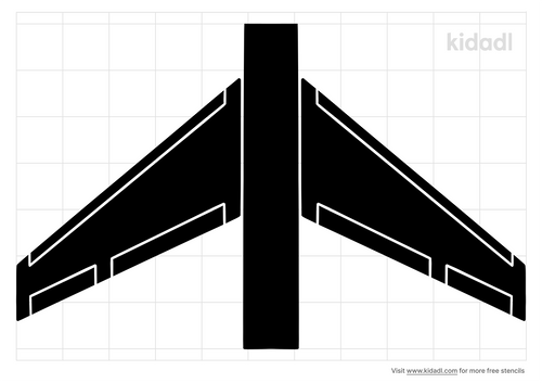 airplane-wings-stencil