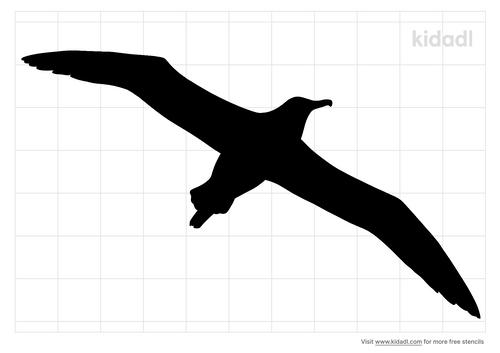 albatross-stencil