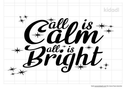 all-is-calm-all-is-bright-stencil