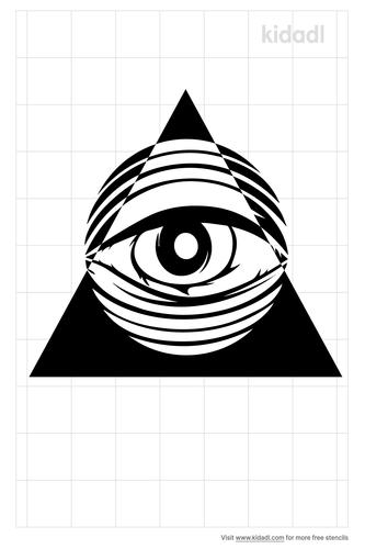 all-seeing-eye-stencil