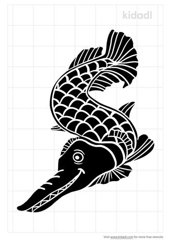 alligator-gar-stencil.png
