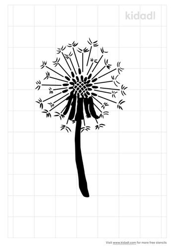 allium-flower-stencil
