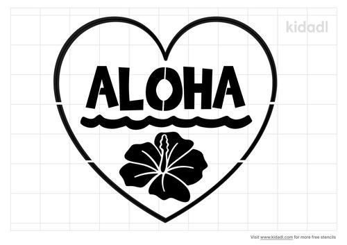 aloha-heart-stencil