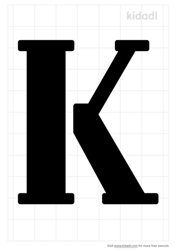 alphabet-k-stencil