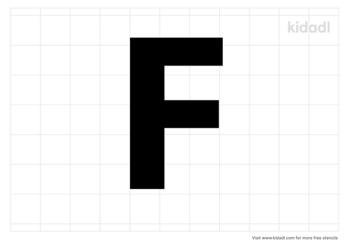alphabet-letter-f-stencil