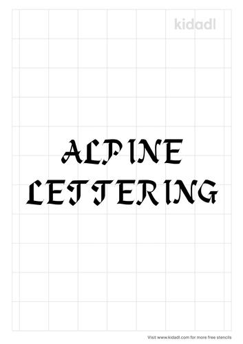 alpine-lettering-stencil