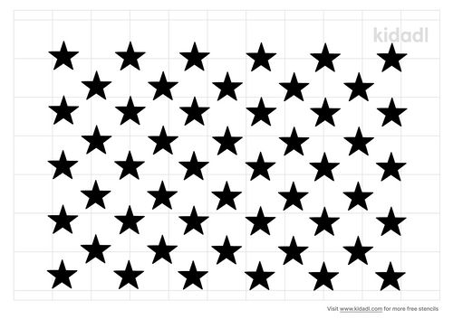 american-flag-stars-stencil