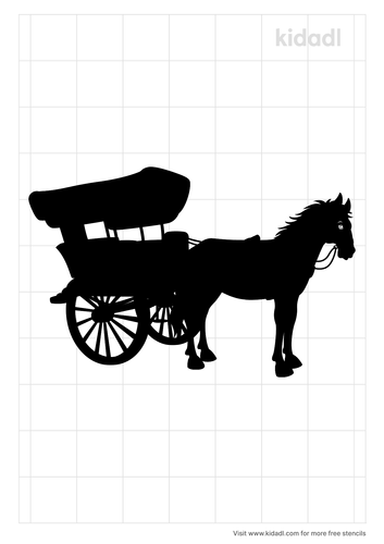 amish-horse-and-buggy-stencil