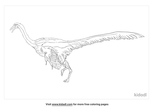anserimimus-coloring-page