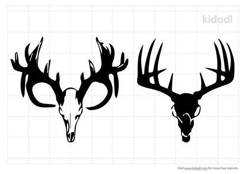 antelope-skull-stencil.png