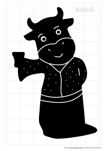 anthropomorphic-cow-stencil.png