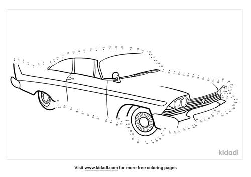 antique-car-dot-to-dot