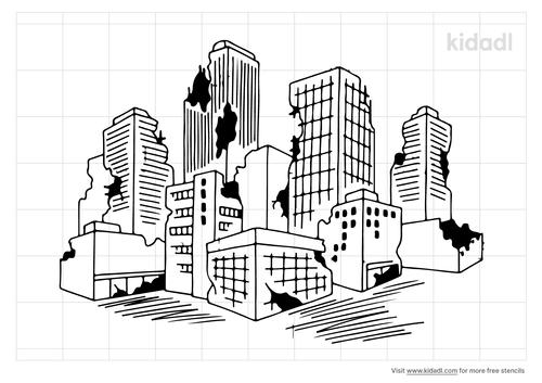 apocalyptic-city-stencil