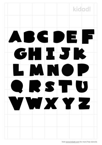 applique-letters-stencil