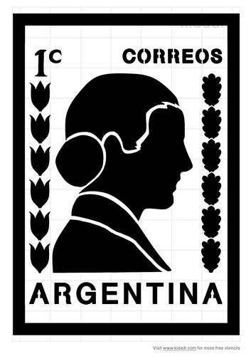 argentina-old-stamp-stencil .png