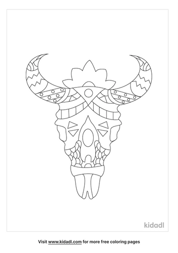 aztec-warrior-steer-head-coloring-page.png