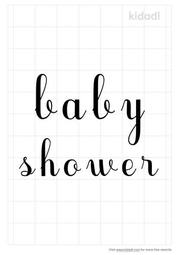 baby-shower-words-in-cursive-stencil