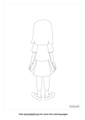 back-of-a-little-girl-coloring-page