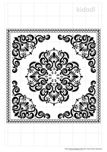 bandana-stencil