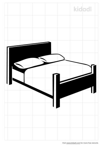 bed-stencil