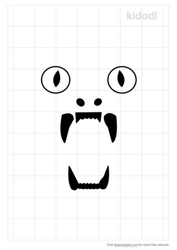 big-cat-eyes-and-teeth-stencil.png