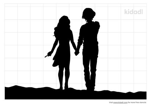 boy-girl-holding-hands-sunset-stencil.png