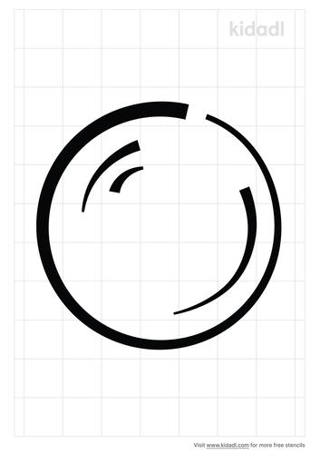 bubble-stencil