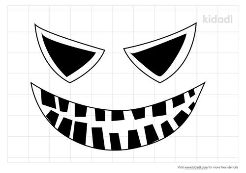 buck-tooth-stencil