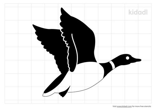 canada-goose-stencil