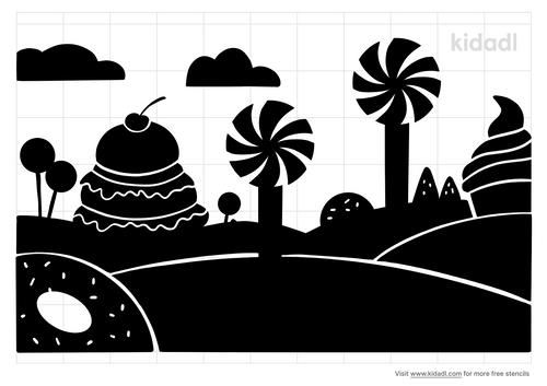 candy-land-stencil
