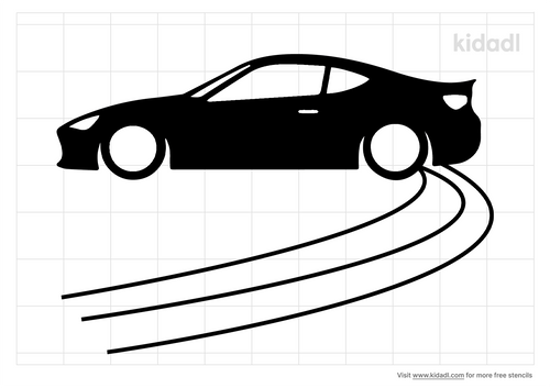 car-drifting-stencil.png
