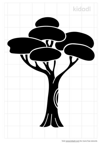 cartoon-jungle-tree-stencil