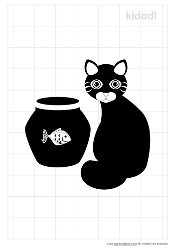 cat-and-fish-bowl-stencil