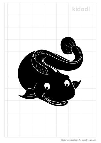 catfish-stencil