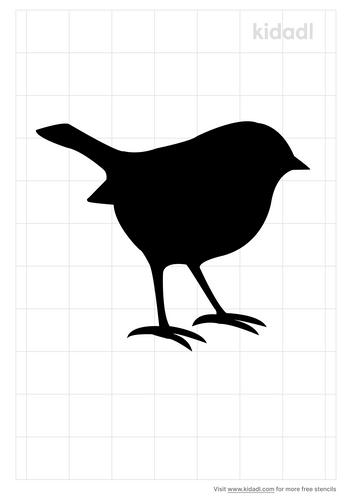 chickadee-stencil
