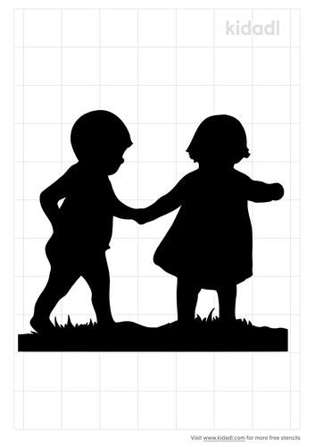 child-shadow-holding-hands-stencil