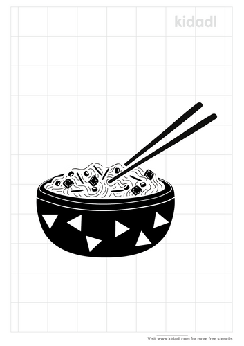 chinese-food-stencil