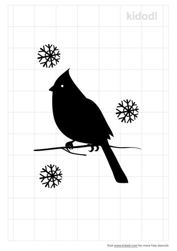 christmas-cardinal-stencil