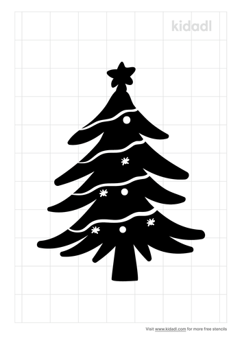 christmas-tree-stencil
